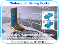 Breathable Waterproof Country Boots Riding Boots Sailing Boots