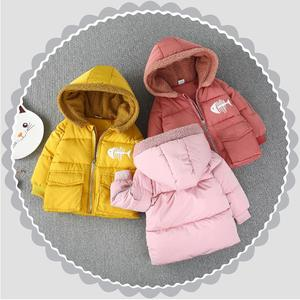 T10742 2019 Cheap Fashion Wholesale Winter Clothes Baby Girls Coat