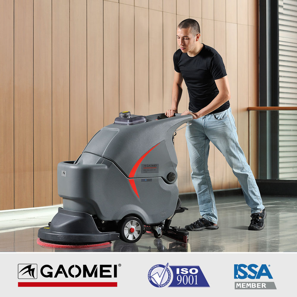 GM50B carpet floor cleaning machine,walk behind Industrial floor scrubber