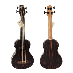 China OEM Aiersi brand Ebony Body Ukulele Bass 30 inch