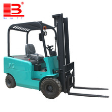 2.5ton Eco-friendly All-electric four-wheel drive walk behind electric forklift truck