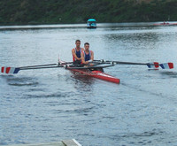 2x racing shell/rowing boat 2015 for sale