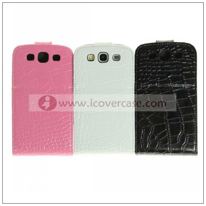 Genuine leather case for samsung galaxy s3,galaxy s3 accessories