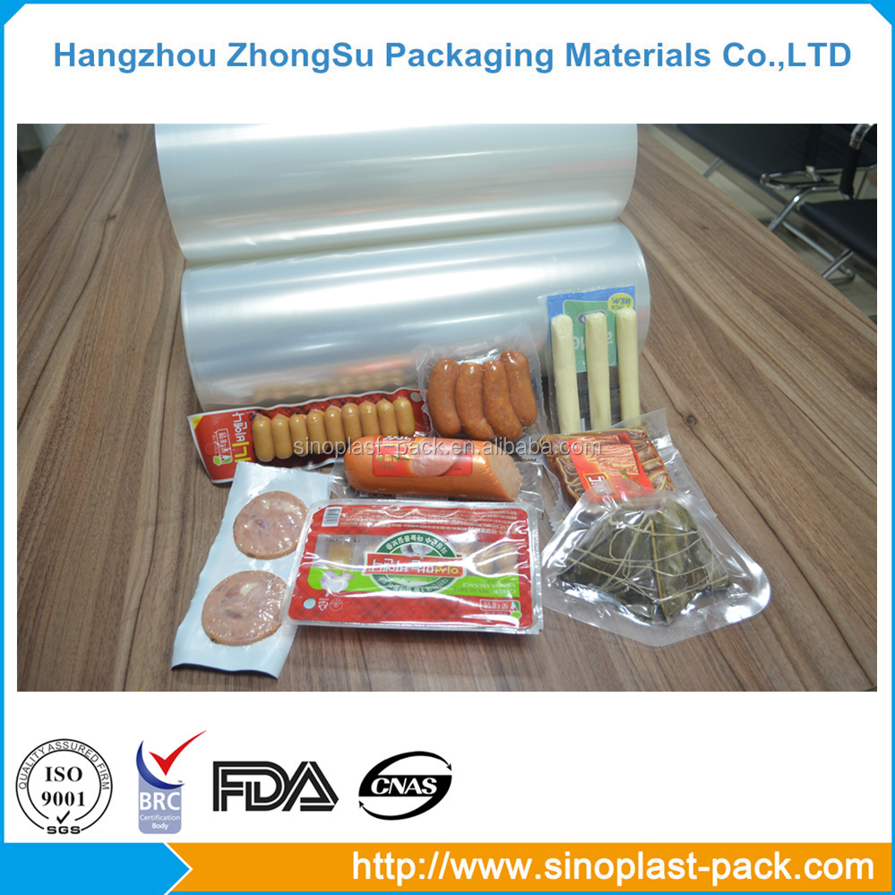 food grade vacuum packaging hot forming stretch roll film