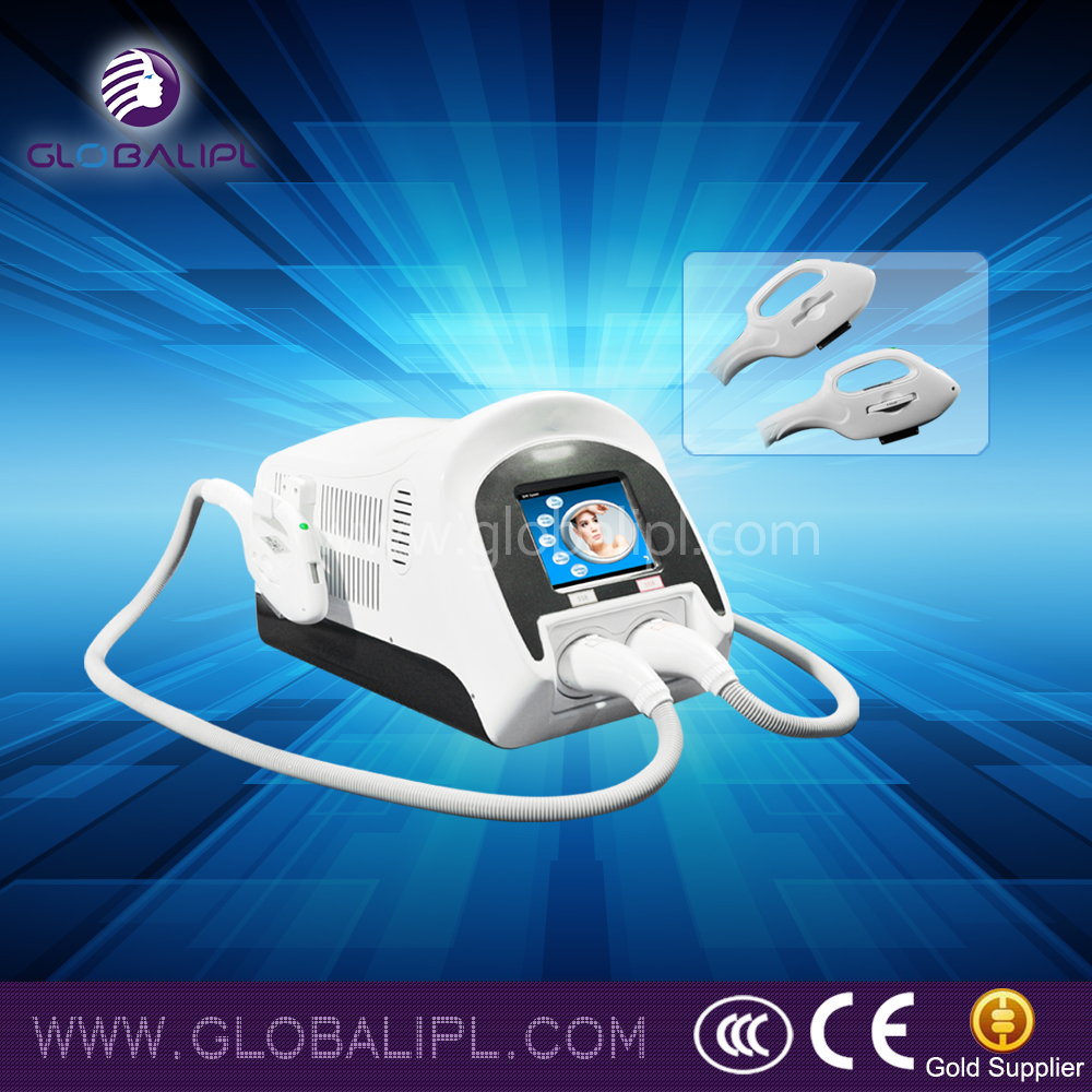 IPL/SHR machine beauty cheap new mobile homes at home skin tightening machine