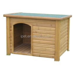 Strong wooden dog kennel outdoor use DK001