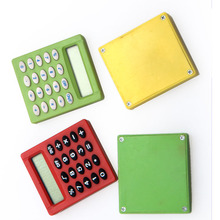 Mini Pocket Calculators Square Design Plastic Calculator