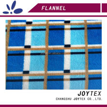 poly flannel double knit fabric for bedding