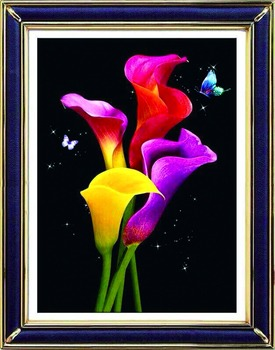 DIY 5D Diamond Embroidery Painting Flower Cross Stitch Home Decor Craft