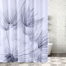 Dandelion printing High Quality Waterproof Polyester Shower Curtain