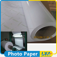 China manufacturer new coming rc glossy woven photo paper