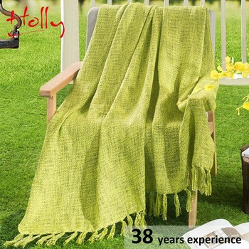 portable soft china throw blanket 100% polyester