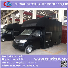 China manufactuer mobile ice cream truck, mobile Hamburger car for sale, fast food mobile kitchen van