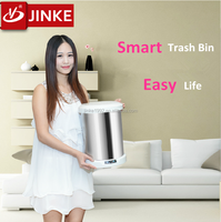 Recycle Automatic Sensor Medical Waste Bin / Stainless Steel Trash Can