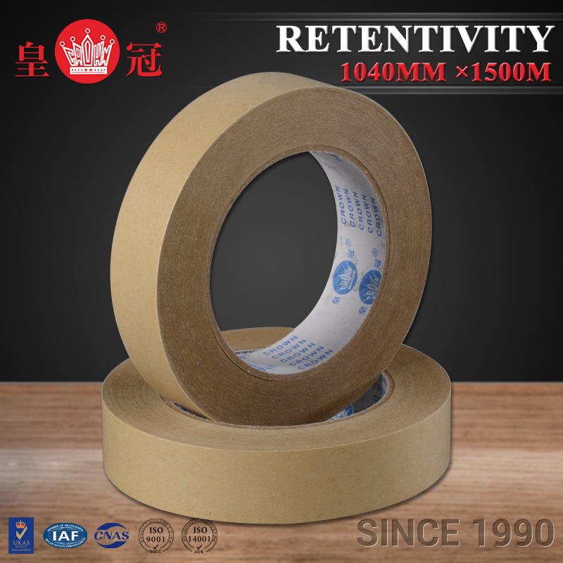 General merchandise retailers Kraft Paper adhesive double side tape for glass