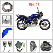 EN125 engine parts and plastic parts
