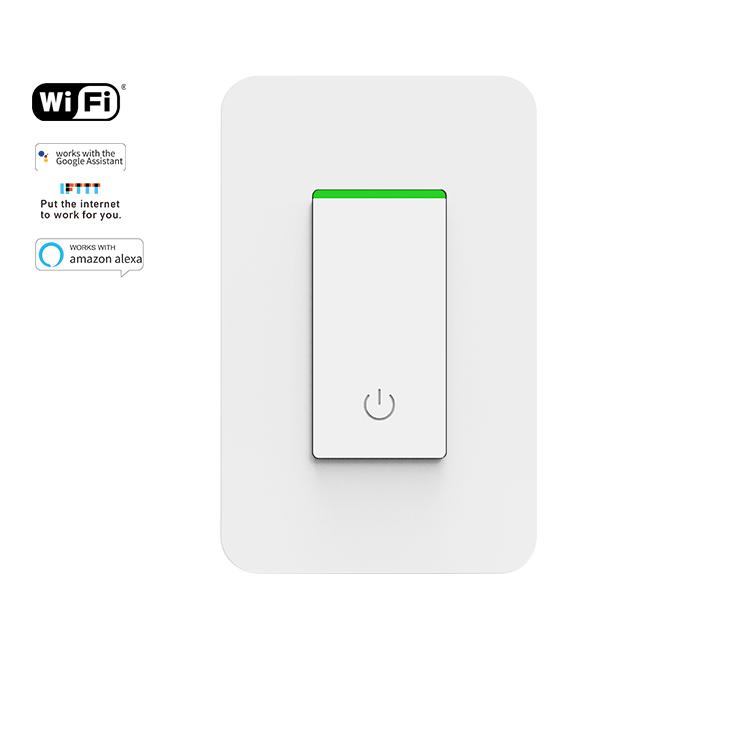 New Model Us Standard Wifi Light Switch Smart Home Wifi Wall Switch ...