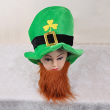 Saint Patrick's Day supplies cheap irish beanie hat celebration hat