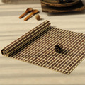 Top quality natural bamboo felt table mat