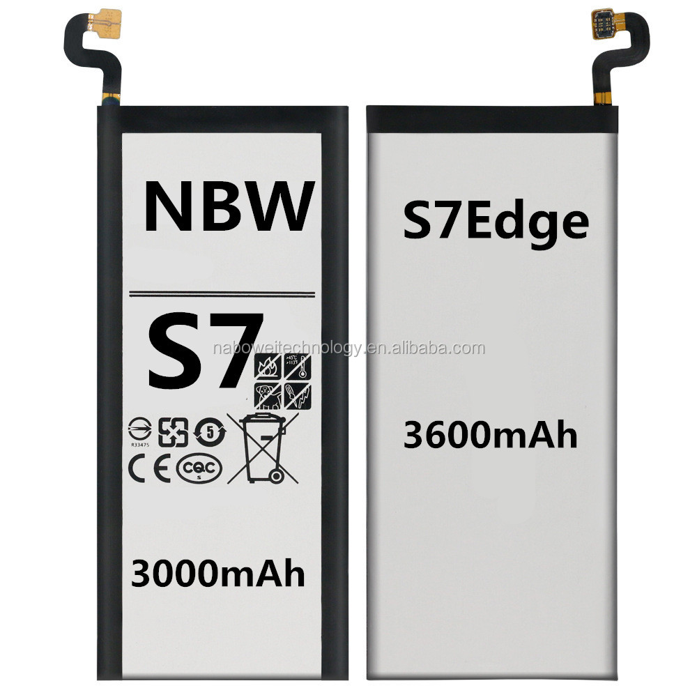 Best Selling Original battery for mobile phone battery for Samsung Galaxy S6 S7 S8 edge  G9350 G935F G9300 g9308 Battery