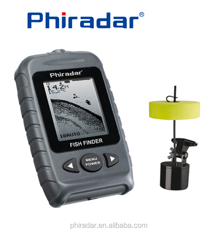 2.5'' portable Sonar fish finder for raft fishing