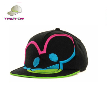 Hot Selling 100% Cotton Custom Wholesale Snapback Hats Neon Color