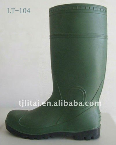 green thigh high boots groundwork safety boots lightweight safety boots