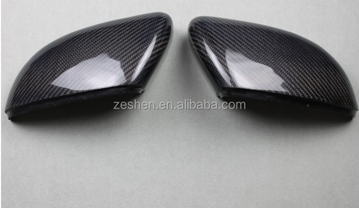FOR VW Volkswagen Golf 6 MK6 2014 side mirrors cover 2pcs ABS Carbon fiber