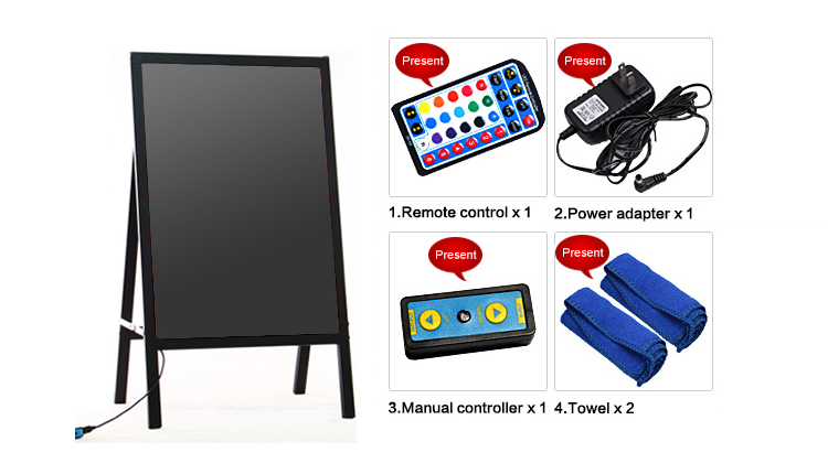 New innovative electronic signs led board writing message board