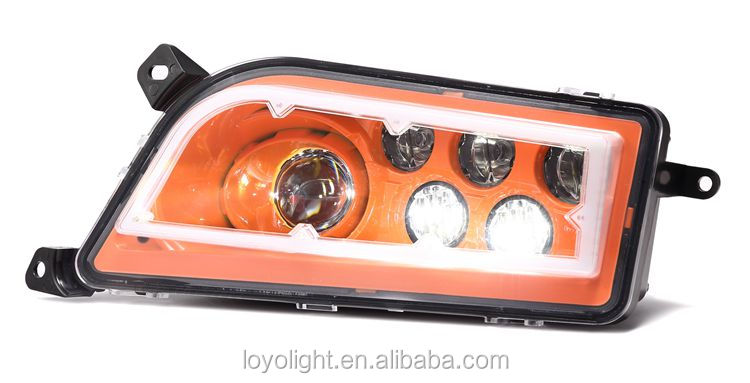 LED Headlight with Halo Ring Angel Eye For P olaris R ZR 1000
