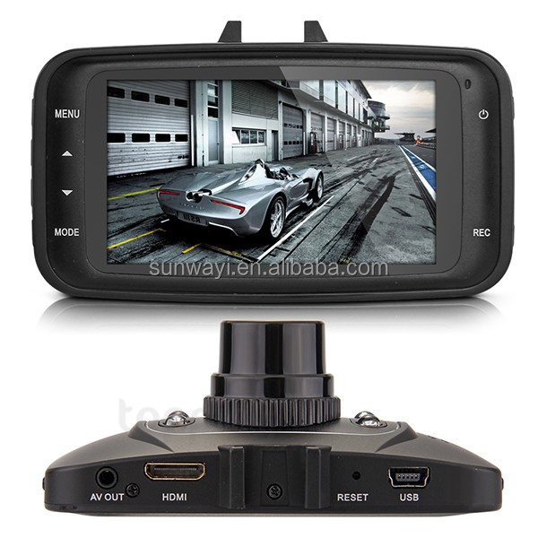 Led Night Vision dash cam 2.7 inch TFT Screen car dvr camera recorder
