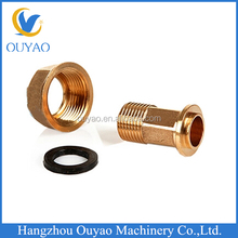 brass connector 1/2'' gas connector brass pipe fitting brass female gas meter connector