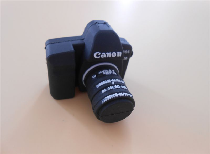 camera shaped usb flash drive in custom shape