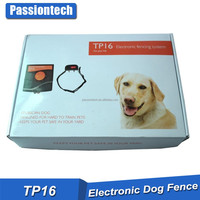TP16 Shock Vibrate Beep Collar Wired Underground Electronic Pet Fencing System TP16 Wireless Dog Fence