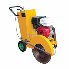 Concrete road saw cutting machine gasoline concrete cutter price