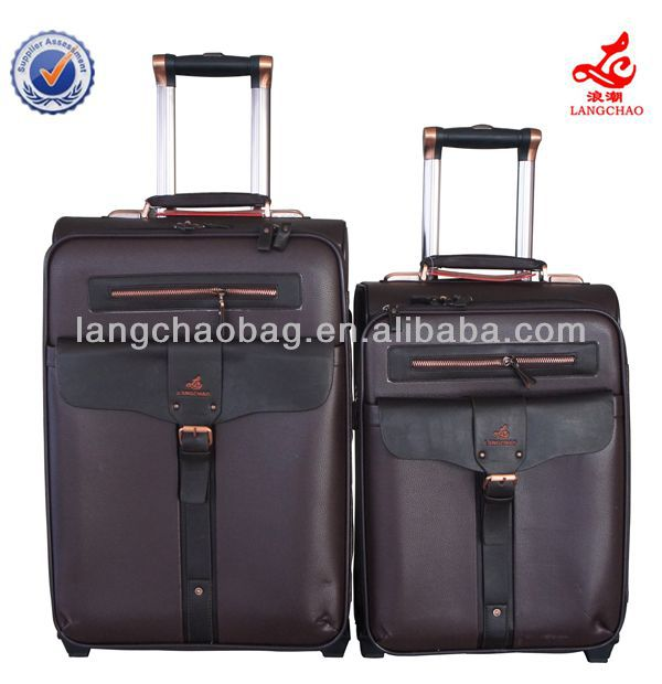 traveling roller travelers choice travel trolley wheels luggage bag