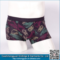 High Quality Cotton Material Men Boxer Shorts China Manufacturer
