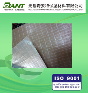 Aluminum Foil Kraft Paper With Fiber Glass Scrim