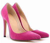 fashion mature sexy pointed toes high heel women pump shoes