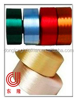 POY yarn dope dyed yarn polyester donglong woven polyester felt