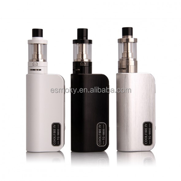 FZC Tech Wholesale Price Authentic Innokin Coolfire IV TC 18650 Full Kit 0.1Ohm Resistance Coolfire 4 TC 75w Kit