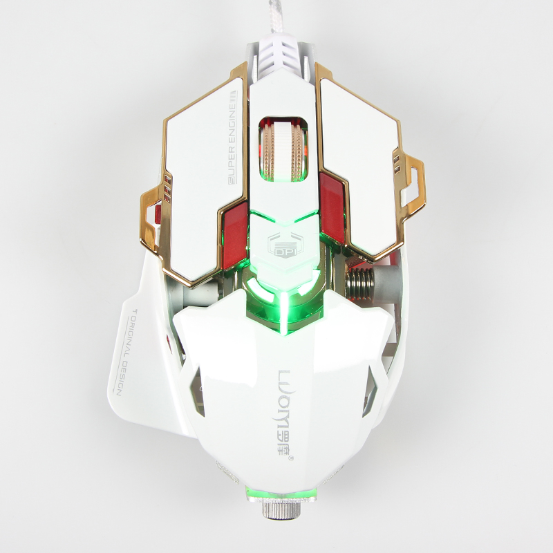 LUOM <strong>G10</strong> user define macro progam Adjustable DPI4000 Optical usb <strong>driver</strong> multicolor breath led light gaming Mouse