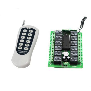 Twelve Channel Sets Remote Control And Remote Controller YET412PC