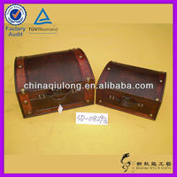 Customized Antique Wooden Trinket Box (QL-7422)