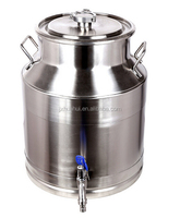 High quality of food grade stainless steel tea drum olive oil barrel for sale