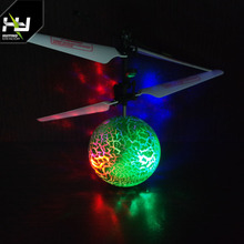 RC UFO Flying Ball Toy Magic Led Hanging Crystal Ball