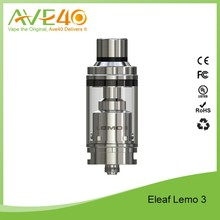 Eleaf Lemo 3 RTA Tank 4ml Capacity Adjustable Airflow Control Rebuildable Tank Atomizer- Silver