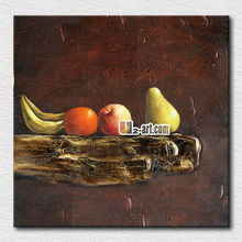 Hot sale factory art Paintings of fruits home decor picture printed on canvas