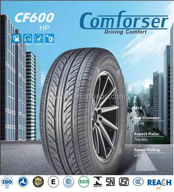COMFORSER 175-195mm Width and radial,Tubeless Type passenger car tire