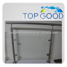high quality new design stainless steel glass railing system